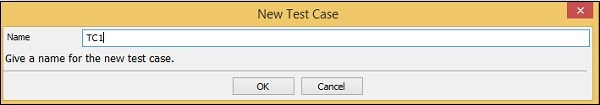 Library New Test Case Ex