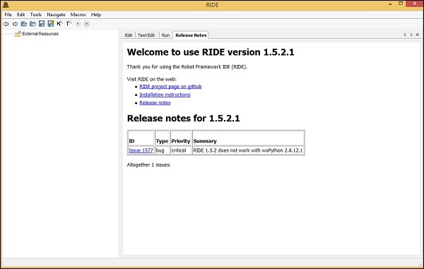 Robot Framework - Unix and Linux Installation