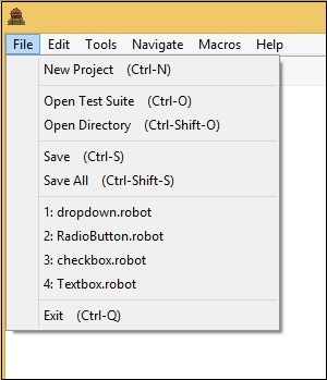 Robot Framework - Working With Variables - Tutorialspoint