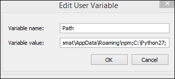Variable Path