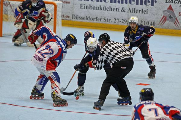 75689798f1a There are two different categories in this game which are Quad Hockey and Inline  Hockey.