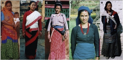 Dressing Of Indian Rural Women