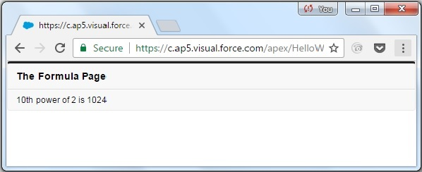Visualforce variables expressions4