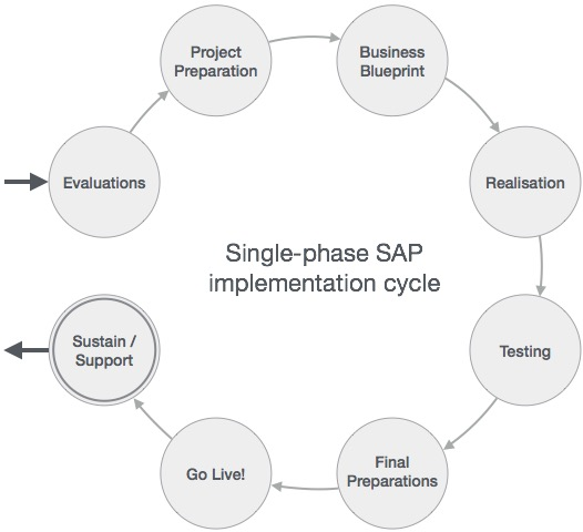 Sap project lifecycle malvernweather Choice Image
