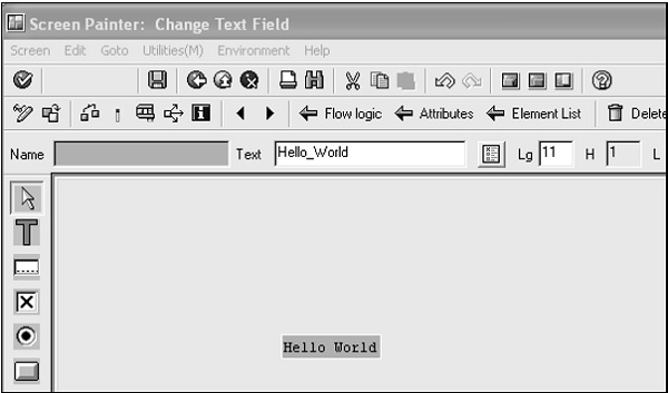 Add Hello World