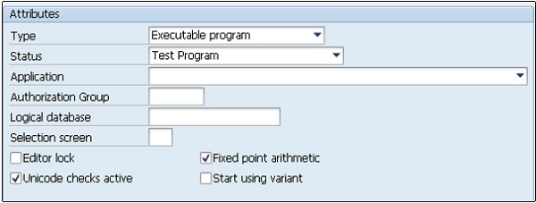 SAP ABAP - Quick Guide - Tutorialspoint