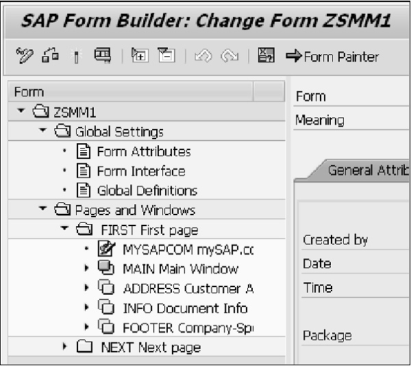 SAP Form Builder