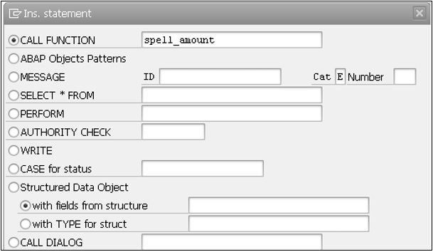 SAP ABAP - Function Modules - Tutorialspoint