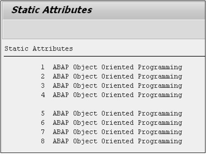 SAP ABAP - Classes - Tutorialspoint