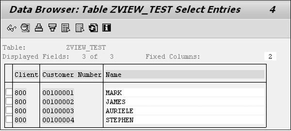 Zview Table