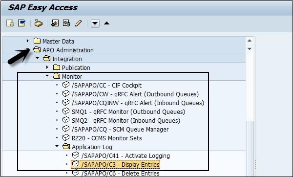 Sap Apo Master Data Setup