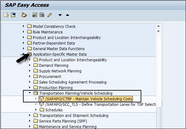 sap apo transport management rh tutorialspoint com Product Master Data SAP SAP Master Data Logo