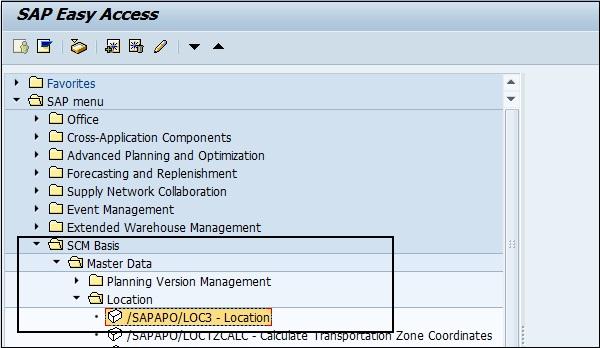 sap apo master data setup rh tutorialspoint com Product Master Data SAP SAP Master Data Logo