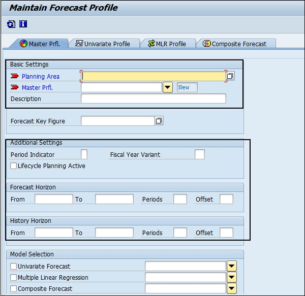 SAP APO - Demand Planning - Tutorialspoint