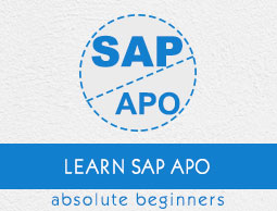 SAP APO Tutorial