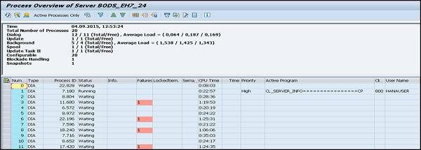 SAP Basis - System Monitoring