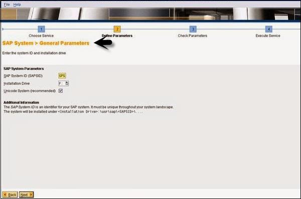 SAP General Parameters