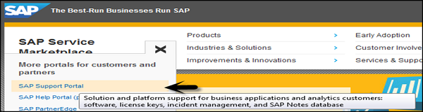 SAP Marketplace