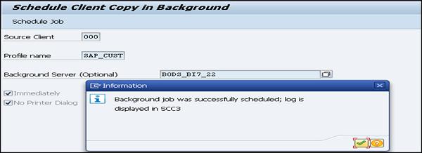 SChedule Client