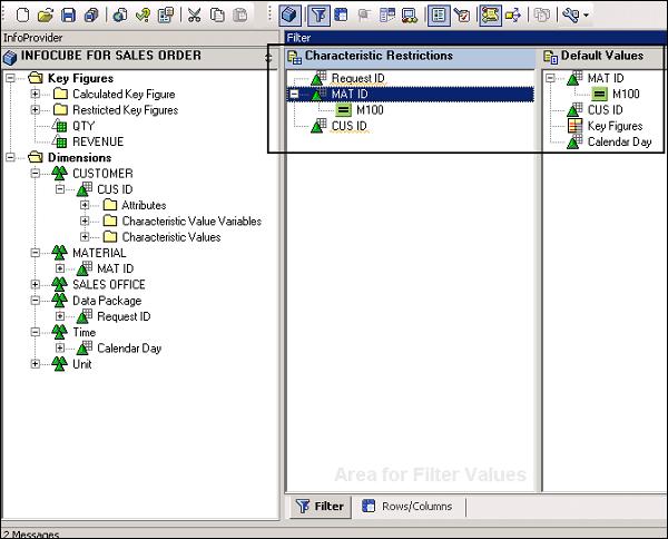 SAP BEx - Query Designer - Tutorialspoint