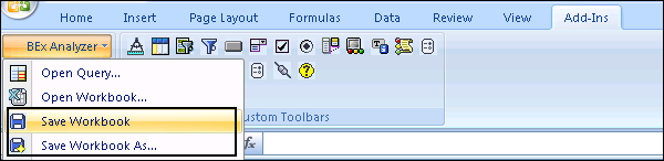 SAP BEx - Analyzer - Tutorialspoint