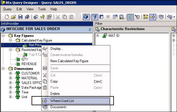 SAP BEx - Quick Guide - Tutorialspoint