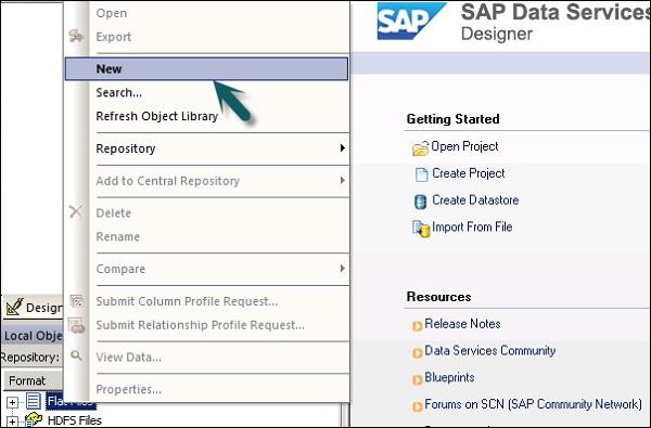 SAP BODS - File Formats