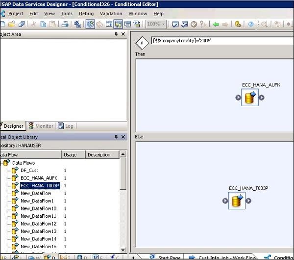 SAP BODS - Creating Workflows - Tutorialspoint