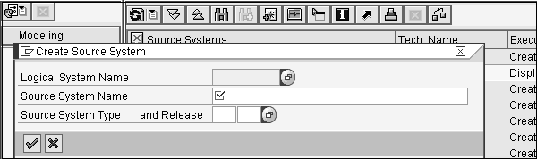 Creating Source System
