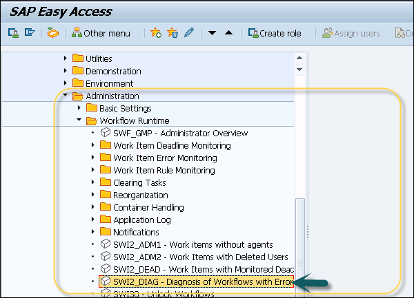sap business workflow workflows with errors