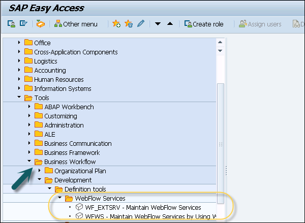 Integration With Non-Sap Workflow Apps - Tutorialspoint
