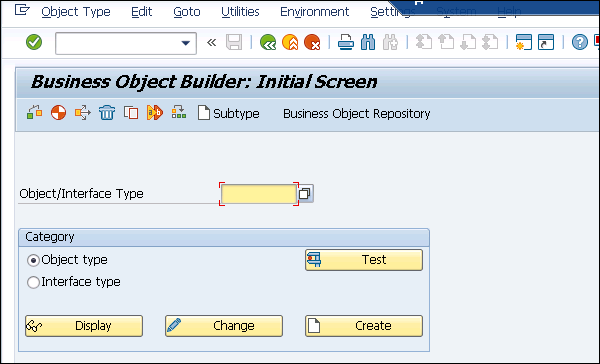 SAP Business Workflow - Business Object - Tutorialspoint