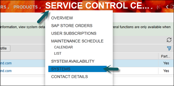 Sap c4c quick guide service control center sciox Images
