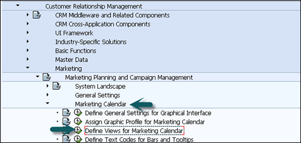 Define Marketing Calendar