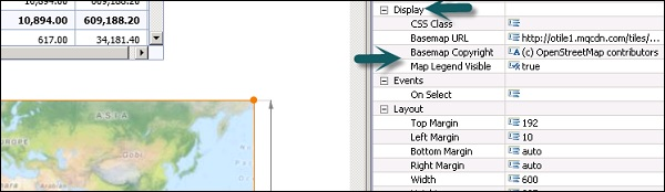 SAP Design Studio - Geomap - Tutorialspoint