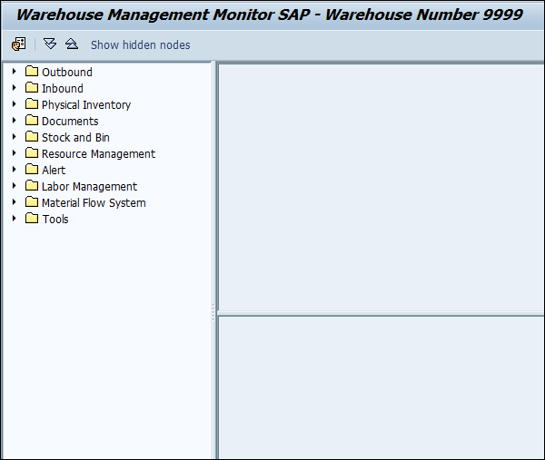 SAP EWM - Warehouse Monitoring - Tutorialspoint