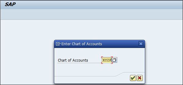 Chart Retained Account