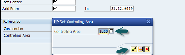 Cost Center Controlling