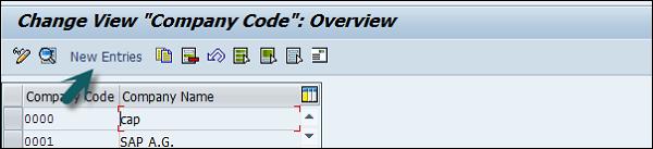 Edit Company Code