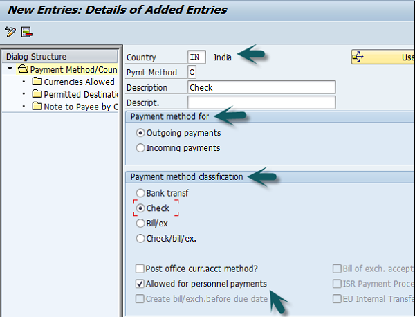 SAP FI - Automatic Payment Run - Tutorialspoint