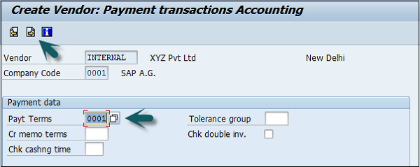 Payment Transactions Accounting Details