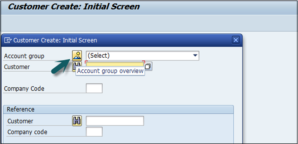 Select Account Group