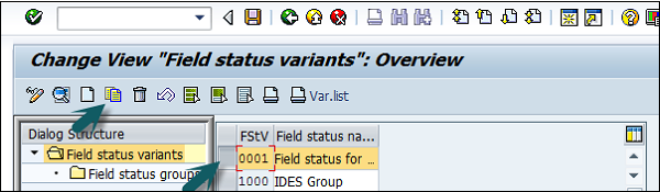Select Field Status Variants