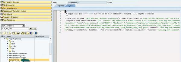 Component JS