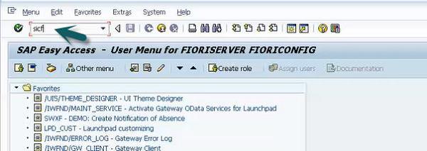 SAP Fiori - Launchpad