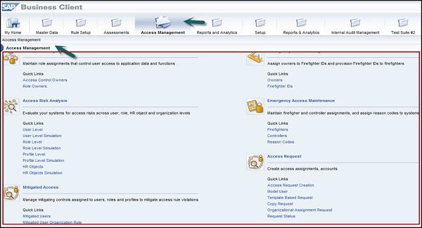 SAP GRC - Quick Guide - Tutorialspoint