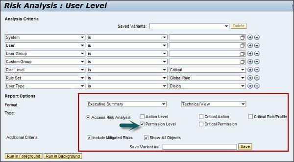 SAP GRC Quick Guide