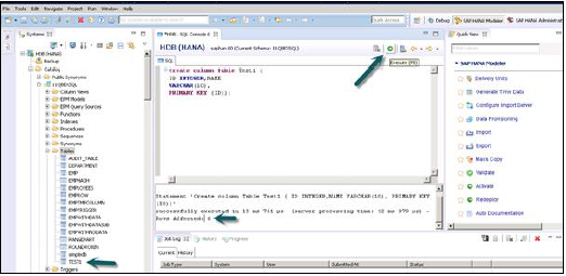 SAP HANA - Quick Guide - Tutorialspoint