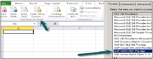 SAP HANA - MDX Provider