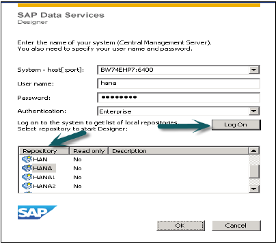 SAP HANA Data Services